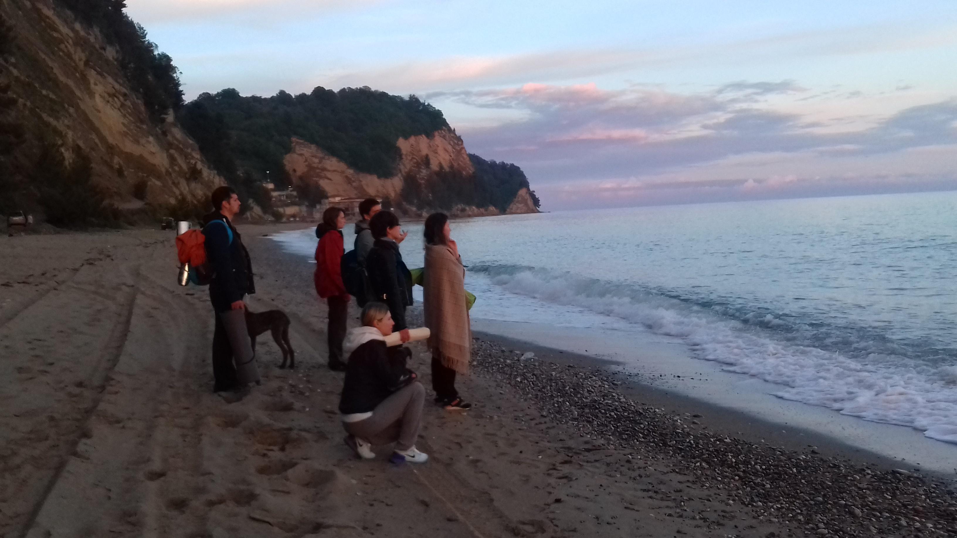 Терапевтическое путешествие в Абхазию Что то напоминающее фото  Практика соединения со стихией Воды фото Марины Билобрам